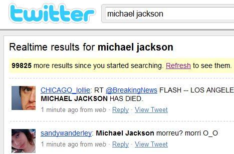 Michael Jackson tot?