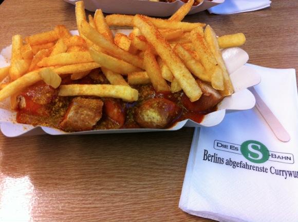 SEO Campixx 2012 Abschieds-Currywurst