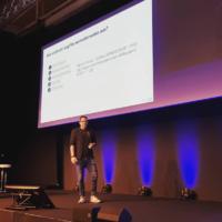 Bastian Grimm auf der SEOkomm 2018