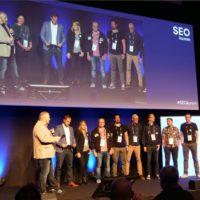 Fachbeirat der SEOkomm 2018 bei der Eröffnung
