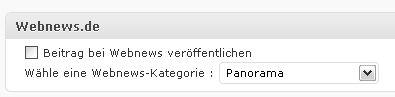 Webnews Plugin
